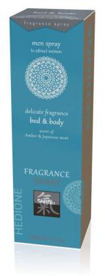Spray Afrodisiac Bed & Body Pentru Femei, Ambra & Menta Japoneza, 100 ml foto