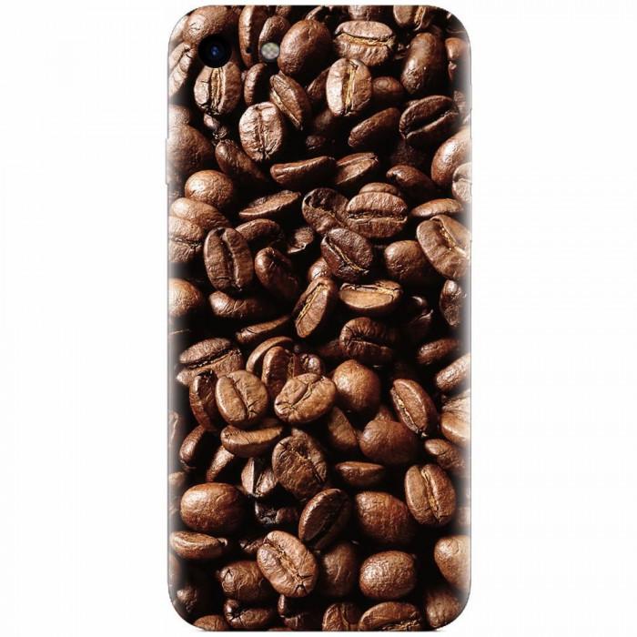 Husa silicon pentru Apple Iphone 6 / 6S, Coffee Beans