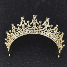 Diadema/tiara/coronita aurie