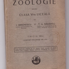 Manual Zoologie, 1929