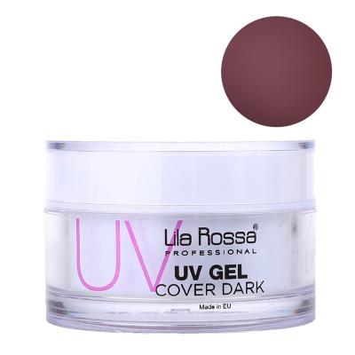 Gel UV pentru unghii Cover Dark Lila Rossa, 50 g foto