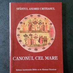 SFANTUL ANDREI CRITEANUL - CANONUL CEL MARE