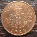 (MR58) MONEDA ROMANIA - 2 LEI 1947, REFORMA MONETARA DIN '47
