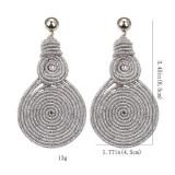 Cumpara ieftin Cercei Spiral Silver 6A23C282
