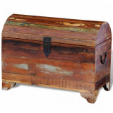 VidaXL Cufăr de depozitare din lemn masiv reciclat