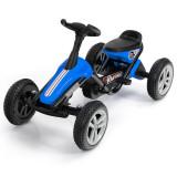 Kard cu pedale pentru copii cu 4 roți Albastru