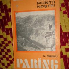 Muntii parang nr 3 colectia muntii nostri cu harta