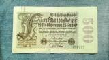 500 Millionen Mark 1923 Germania / marci / 500000000 / milioane