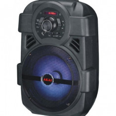 Boxa portabila akai abts-808l bluetooth negru