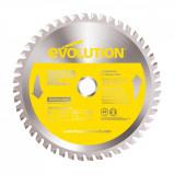 Cumpara ieftin Disc pentru fierastrau circular, taiere inox Evolution EVOEVOBLADESS-0439, O180 x 20 mm, 48 dinti
