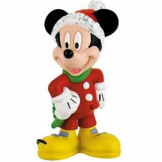 Figurina Mickey Mouse, Craciun, Bullyland