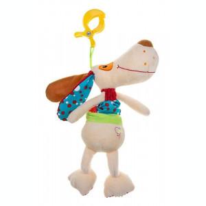 Jucarie copii din plus Akuku cu clips DOG A0390