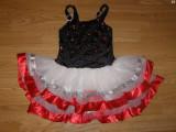Costum carnaval serbare rochie dans balet gala pentru copii de 4-5-6 ani, 4-5 ani, Din imagine