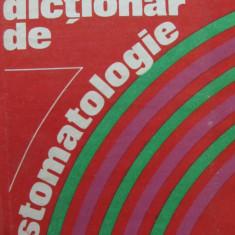 Mic dictionar de Stomatologie - Gafar Memet , Gloria Radu , Elena Stanciu
