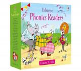 Phonics readers set 2 - Carte Usborne (4+)