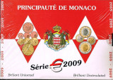 """MONACO 2009 – set monetarie """"1cent – 2 euro"""" BU / folder sigilat, Europa"""
