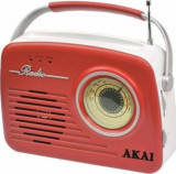 Radio portabil Akai APR-11R/B USB 11W Red