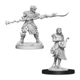 Set Figurine Dungeons And Dragons Nolzur S Unpainted Yuan-Ti Purebloods Adventurers
