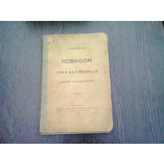 ROBINSON IN TARA ROMANEASCA-ION GORUN