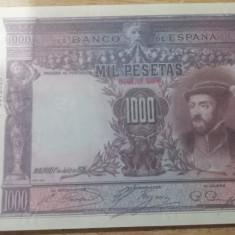 MDBS - BANCNOTA SPANIA - 1000 PESETAS -1926