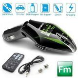 Modulator FM MP3 Premium de Culoare Verde - New Model