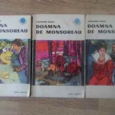 DOAMNA DE MONSOREAU VOL.1-3 - AL. DUMAS