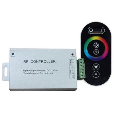 CONTROLLER BANDA LED RGB CU TOUCH 12V/24V 3AX4 144W foto