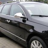 Ornamente inox oglinda VW Passat B6 2005 - 2010