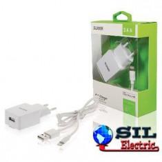 Incarcator de la retea, iesire USB 2.4 A alb, Sweex