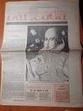 Ziarul baricada 24 aprilie 1990-articol regele mihai