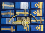 Efecte militare - Grade militare - Epoleți - Lot diferite grade militare (2)