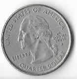 Moneda quarter dollar 2007, Idaho - SUA, America Centrala si de Sud