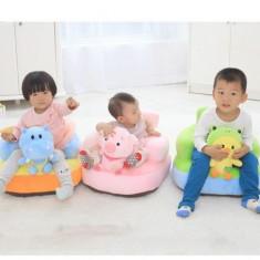 Fotoliu bebe cu spatar si opritor