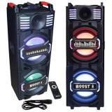 BOXA KARAOKE ACTIVA 2X10 inch/25CM 200W RMS + MICROFON WIRELESS Electronic Technology