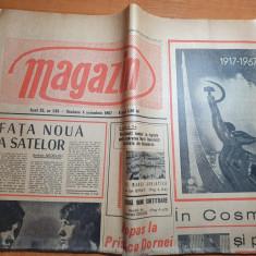 magazin 4 noiembrie 1967-art. falciu  raionul barlad,art. in cosmos si pe pamant