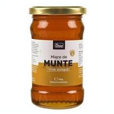 Miere de Munte Cruda Bio 430gr Obio Cod: 6426333001455