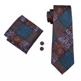Set cravata matase butoni batista model B+cutie cadou