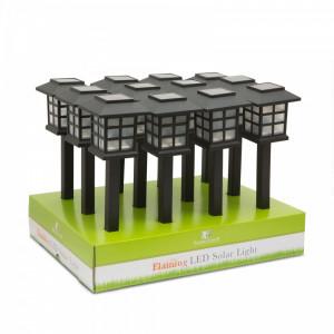 "Lampa solara LED - ""Imitatie flacara"" Best CarHome"