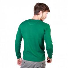 Pulover barbati U.S. Polo Assn model 49811_50357, In V, culoare Verde, marime L EU