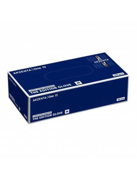 Manusi latex fara pudra Akzenta Ultrasensitive The Edition Glove, culoarea alba, 100 bucati
