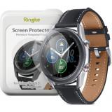 Folie sticla transparenta Case friendly Ringke ID Samsung Galaxy Watch 3 (41mm) 4-Pack