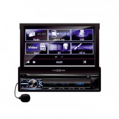 Multimedia player auto VBX800i, LCD, RDS, BT, mirrorlink, touchscreen, iOS, Android, 4x50W Mania Tools