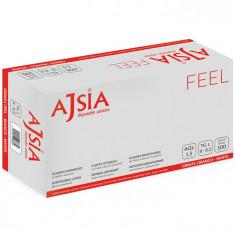 Manusi latex Ajsia marimea XL 100 bucati/cutie, usor pudrate