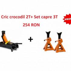 Cric crocodil 2T + Set capre 3T
