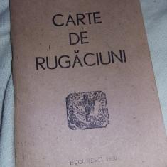 CARTE DE RUGACIUNI veche 1990,perfecta stare ,T.GRATUiT