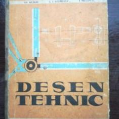 Desen tehnic. Manual pentru scoli profesionale- C. I. Georgescu, Gh. Nicoara