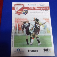 program         CFR  Timisoara   -  FC  Bihor