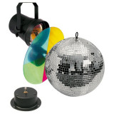 Cumpara ieftin Set sfera oglinzi Showtec Mirrorballset 20cm
