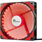 Cumpara ieftin Ventilator Inter-Tech Argus L-12025 Red LED Fan