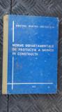 Norme departamentale de protectie a muncii in constructii